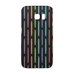 Pencil Stationery Rainbow Vertical Color Galaxy S6 Edge