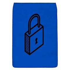 Padlock Love Blue Key Flap Covers (S)