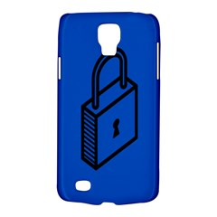 Padlock Love Blue Key Galaxy S4 Active