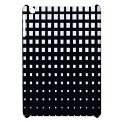 Plaid White Black Apple iPad Mini Hardshell Case
