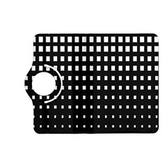 Plaid White Black Kindle Fire HD (2013) Flip 360 Case