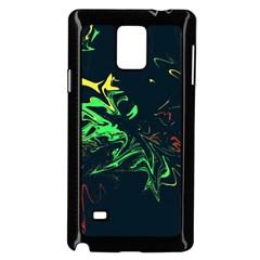 Colors Samsung Galaxy Note 4 Case (Black)