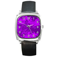 Colors Square Metal Watch
