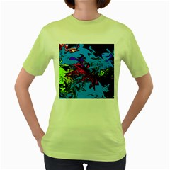 Colors Women s Green T-Shirt
