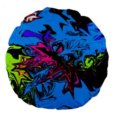 Colors Large 18  Premium Round Cushions