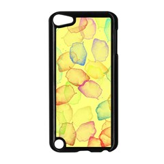 Watercolors on a yellow background          Apple iPad Mini Case (White)