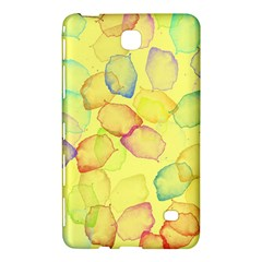 Watercolors on a yellow background          Samsung Galaxy Tab 4 (7 ) Hardshell Case