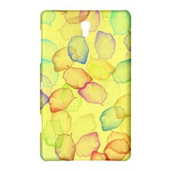 Watercolors on a yellow background          Samsung Galaxy Tab 4 (10.1 ) Hardshell Case