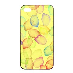 Watercolors on a yellow background          Sony Xperia Z3+ Hardshell Case