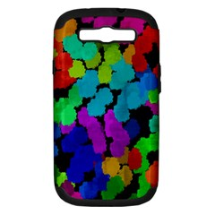Colorful strokes on a black background         Apple Seamless iPhone 5 Case (Color)