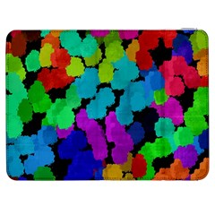 Colorful strokes on a black background         HTC One M7 Hardshell Case