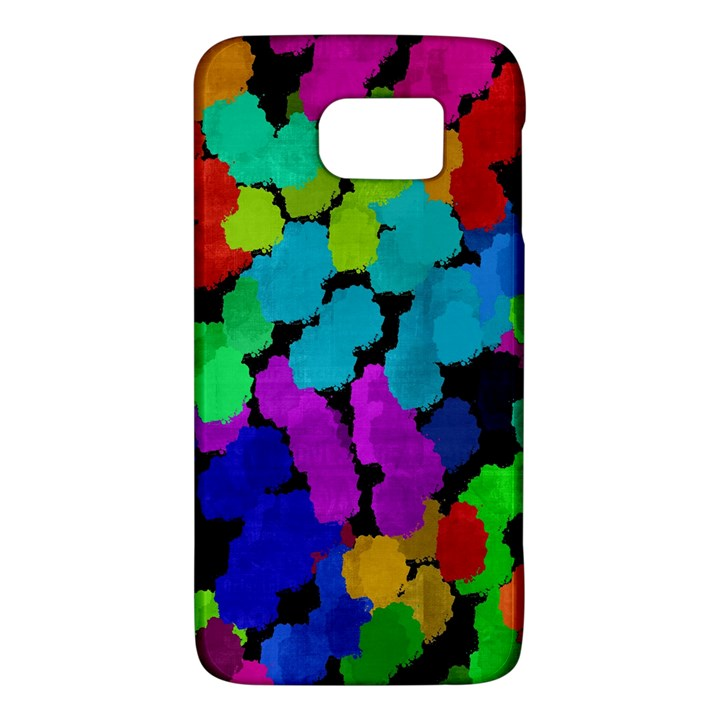 Colorful strokes on a black background         HTC One M9 Hardshell Case