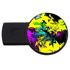 Colors USB Flash Drive Round (4 GB)