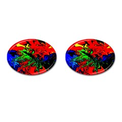 Colors Cufflinks (Oval)