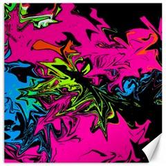 Colors Canvas 12  x 12