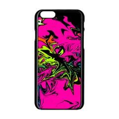 Colors Apple iPhone 6/6S Black Enamel Case
