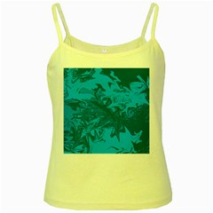 Colors Yellow Spaghetti Tank