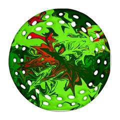 Colors Ornament (Round Filigree)
