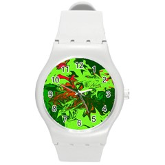 Colors Round Plastic Sport Watch (M)