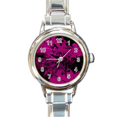Colors Round Italian Charm Watch