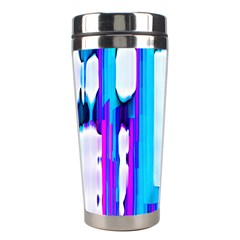 Blue Watercolors               Stainless Steel Travel Tumbler