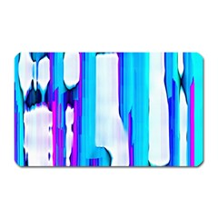 Blue watercolors               Magnet (Rectangular)