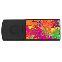 Colors USB Flash Drive Rectangular (1 GB)