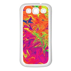 Colors Samsung Galaxy S3 Back Case (White)