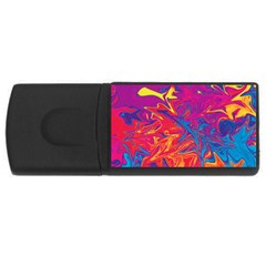 Colors USB Flash Drive Rectangular (2 GB)