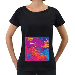 Colors Women s Loose-Fit T-Shirt (Black)