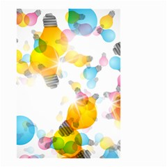 Lamp Color Rainbow Light Small Garden Flag (Two Sides)