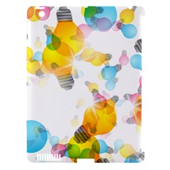 Lamp Color Rainbow Light Apple iPad 3/4 Hardshell Case (Compatible with Smart Cover)