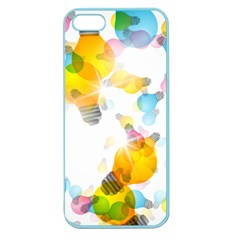 Lamp Color Rainbow Light Apple Seamless iPhone 5 Case (Color)