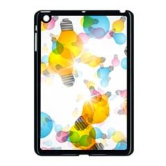 Lamp Color Rainbow Light Apple iPad Mini Case (Black)