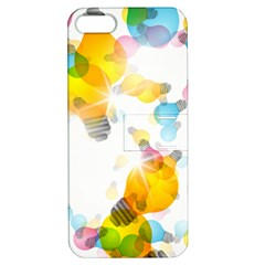 Lamp Color Rainbow Light Apple iPhone 5 Hardshell Case with Stand