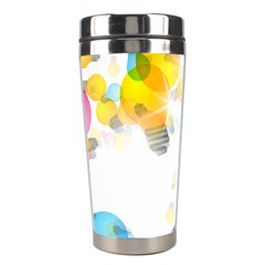 Lamp Color Rainbow Light Stainless Steel Travel Tumblers
