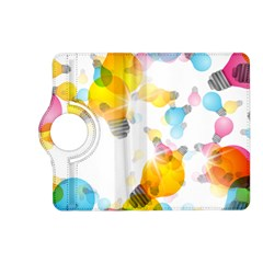 Lamp Color Rainbow Light Kindle Fire HD (2013) Flip 360 Case