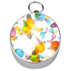 Lamp Color Rainbow Light Silver Compasses