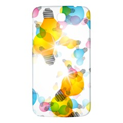 Lamp Color Rainbow Light Samsung Galaxy Mega I9200 Hardshell Back Case