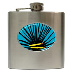 Match Cover Matches Hip Flask (6 oz)