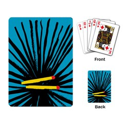 Match Cover Matches Playing Card