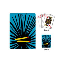Match Cover Matches Playing Cards (Mini)
