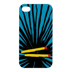 Match Cover Matches Apple iPhone 4/4S Hardshell Case
