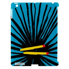 Match Cover Matches Apple iPad 3/4 Hardshell Case (Compatible with Smart Cover)