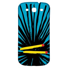 Match Cover Matches Samsung Galaxy S3 S III Classic Hardshell Back Case