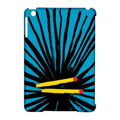 Match Cover Matches Apple iPad Mini Hardshell Case (Compatible with Smart Cover)