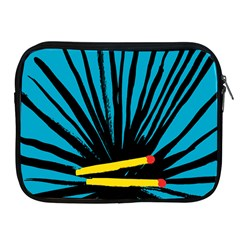 Match Cover Matches Apple iPad 2/3/4 Zipper Cases