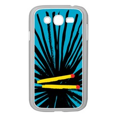 Match Cover Matches Samsung Galaxy Grand DUOS I9082 Case (White)