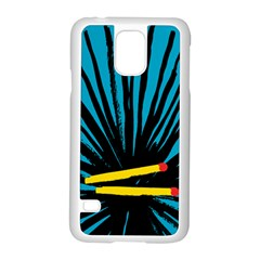 Match Cover Matches Samsung Galaxy S5 Case (white)