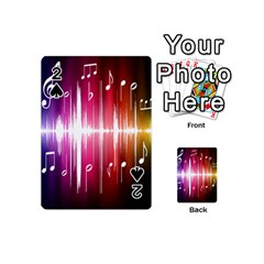 Music Data Science Line Playing Cards 54 (Mini)